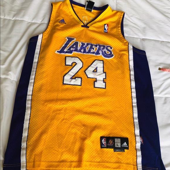 cb10314cbef adidas Shirts | Nba Kobe Bryant La Lakers Jersey Sz Large | Poshmark